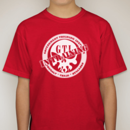 T-Shirt-Red-GTI-In-Training-Logo-Front