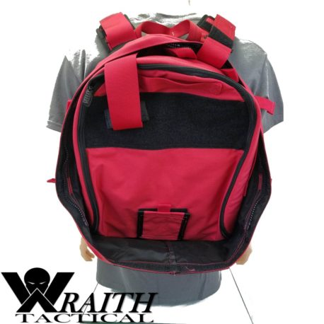Wraith Tactical CARR Pack Red Back With Medical Bag