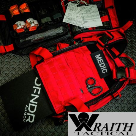 Wraith Tactical CARR Pack Gen 2 Red Stocked