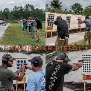 Gunfighter Training Pistol Phase 1 @ Government Training Institute