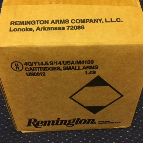 Remington UMC 40 Case Side