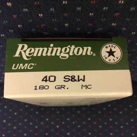Remington UMC 40 Individual Box End