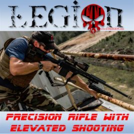 Precision Rifle With Elevated Shooting