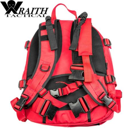 Wraith Tactical CARR Pack Gen 2 Red With Bungee Straps 4
