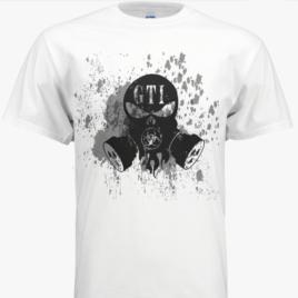 T-Shirt-White-GTI-CBRNE-Logo-GTI-Skull-Logo-Front
