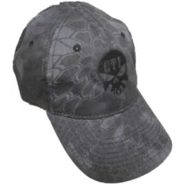 Kryptek GTI Skull Hat Typhon - Black