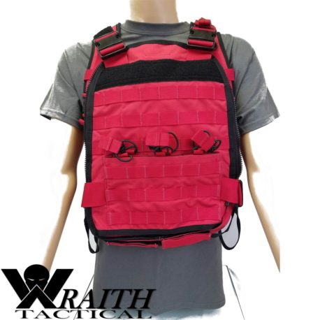 Wraith Tactical CARR Pack Red Front