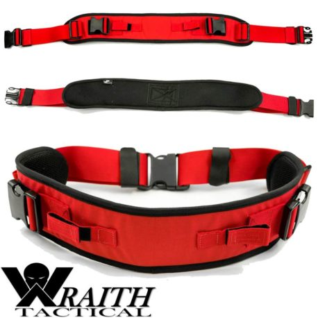 Wraith Tactical CARR Pack Hip Belt Red