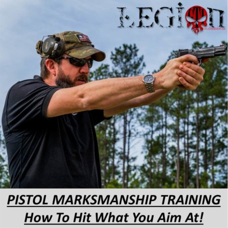 Pistol Marksmanship Training 101 - How To Hit What You Aim At!