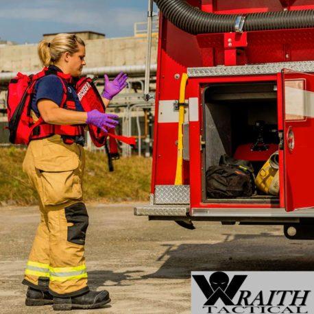Wraith Tactical CARR Pack Gen 2+ Red Firetruck 3