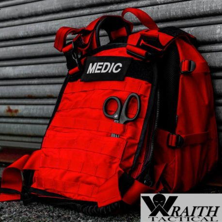Wraith Tactical CARR Pack Gen 2+ Red Front Deployed