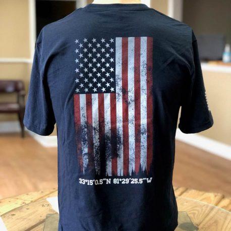 Navy-Shirt-GTI-Corp-Flag-Back