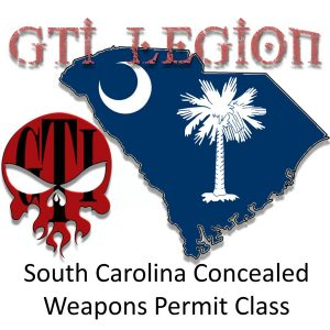South Carolina Concealed Weapon Permit Class @ Government Training Institute