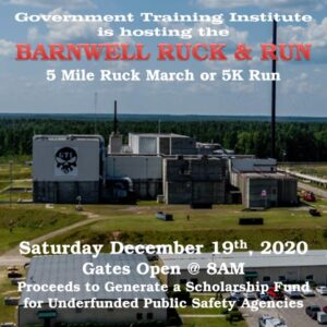 Barnwell Ruck and Run @ Government Training Institute