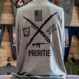 Priorities LST Back